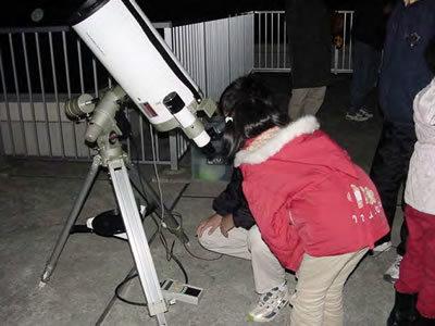 写真:天体観測